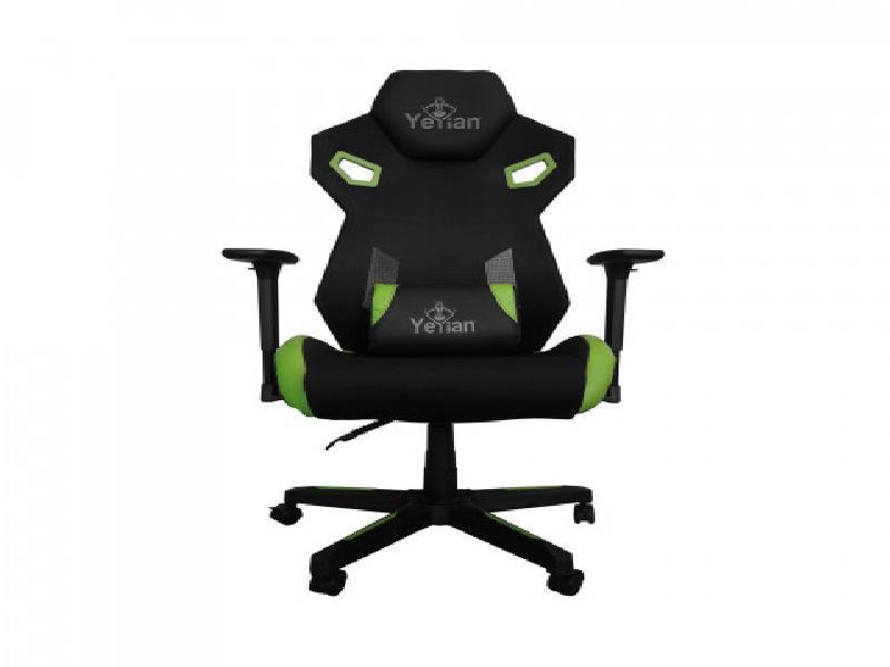 Yeyian Gaming Chair Drakkar Series 2500 Green - SKU: YFC-ECFL-01-GR