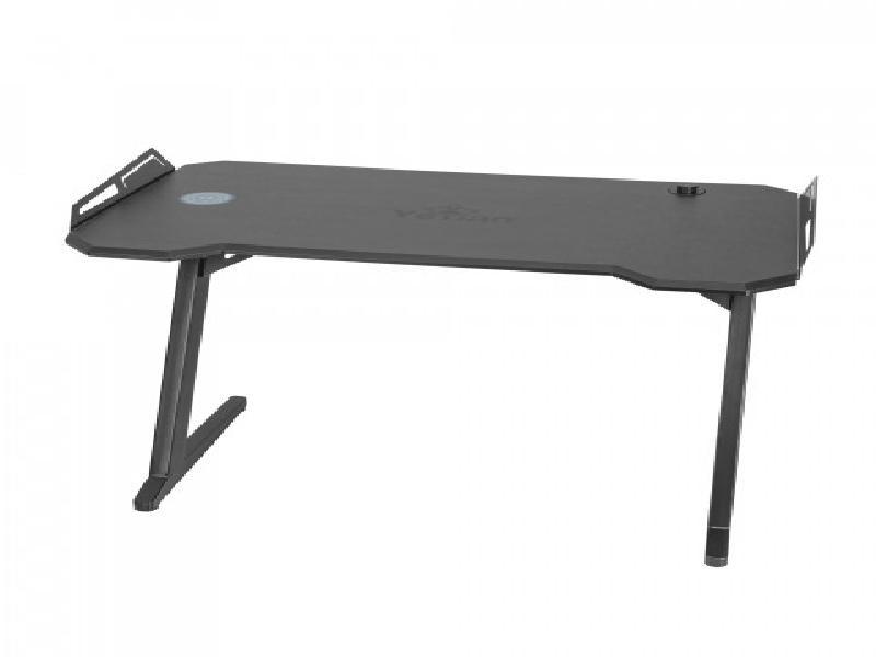 Yeyian Gaming Desk Lokii, Black - SKU: YFD-LWCU-01-BK