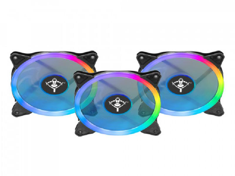 Yeyian ARGB LED Fan Kit Typhoon - SKU: YCF-3RGB-01